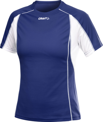 Футболка Craft Track and Field женская синяя