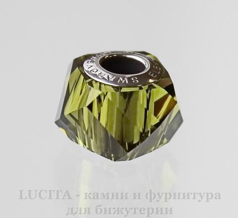 5928 Бусина Сваровски BeCharmed Helix Olivine 14х9 мм
