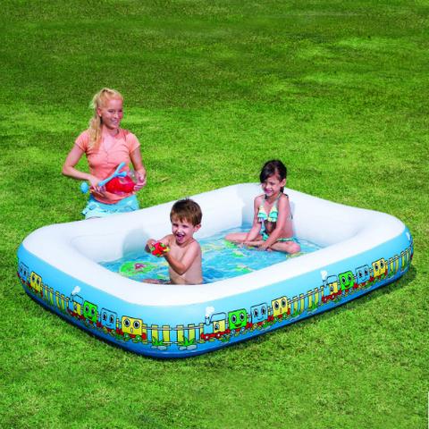 Надувной детский бассейн Паровозик (Train Activity Pool)