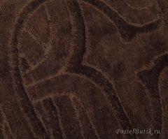 Элитный коврик для ванной Logo коричневый от Roberto Cavalli