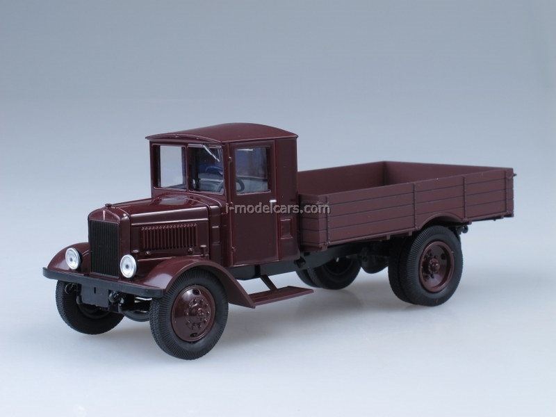 YaG-5 dark red 1:43 Nash Avtoprom