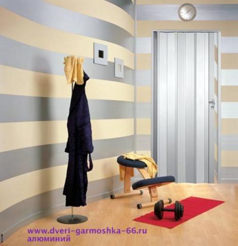Дверь гармошка в Екатеринбурге