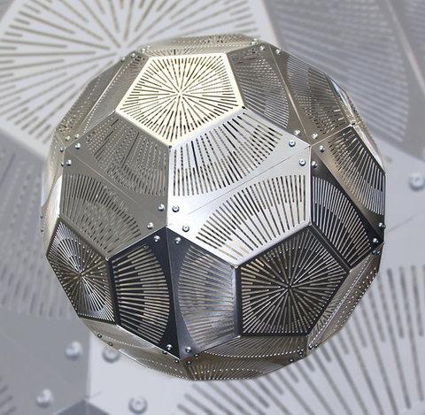 светильник Punch Ball Pendant light