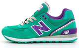 Кроссовки Женские New Balance 574 Green Violet