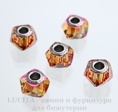 5928 Бусина Сваровски BeCharmed Helix Crystal Astral Pink 14х9 мм