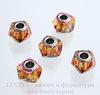 5928 Бусина Сваровски BeCharmed Helix Crystal Astral Pink 14х9 мм