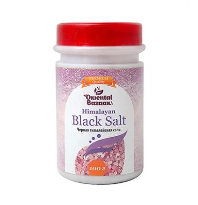 Черная гималайская соль Oriental Bazaar / Black Salt, 100 г