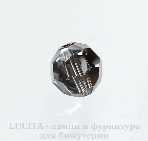 5000 Бусина - шарик с огранкой Сваровски Crystal Silver Night 8 мм