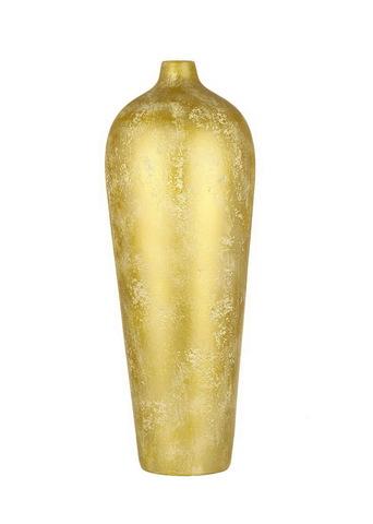 Элитная ваза декоративная Акрос высокая золотая от Sporvil