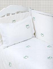 Бампер для детской кроватки 185х45 Bovi Сердечки