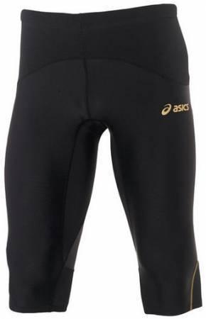 Мужские беговые тайтсы 3/4 Asics TI Men's Knee Tight (590148 0900) black
