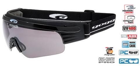 Лыжные очки-маска goggle линия Shima black