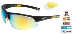 Спортивные очки goggle FALCON race black/yellow