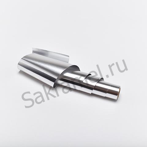 Фольга (18 мкр, серебро, 12 см, 25 м)