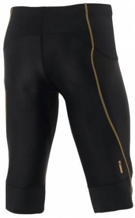 Мужские беговые тайтсы 3/4 Asics TI Men's Knee Tight (590148 0900) black фото