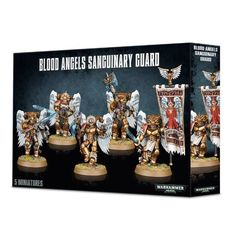 Blood Angels Sanguinary Guard. Коробка