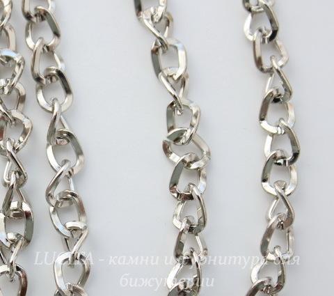 Цепь (цвет - античное серебро) 6х5 мм, примерно 5 м