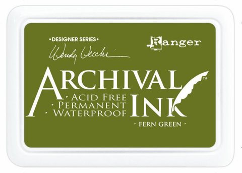 Архивные чернила Ranger Archival Ink Pads  FERN GREEN