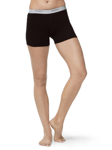 Термошорты Norveg Soft Shorts женские чёрные