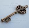 "Подвеска ""Ключ"" (цвет - античная медь)45х18 мм ()"