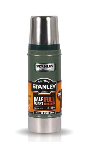 Термос Stanley Legendary Classic (0,47 литра) темно-зеленый
