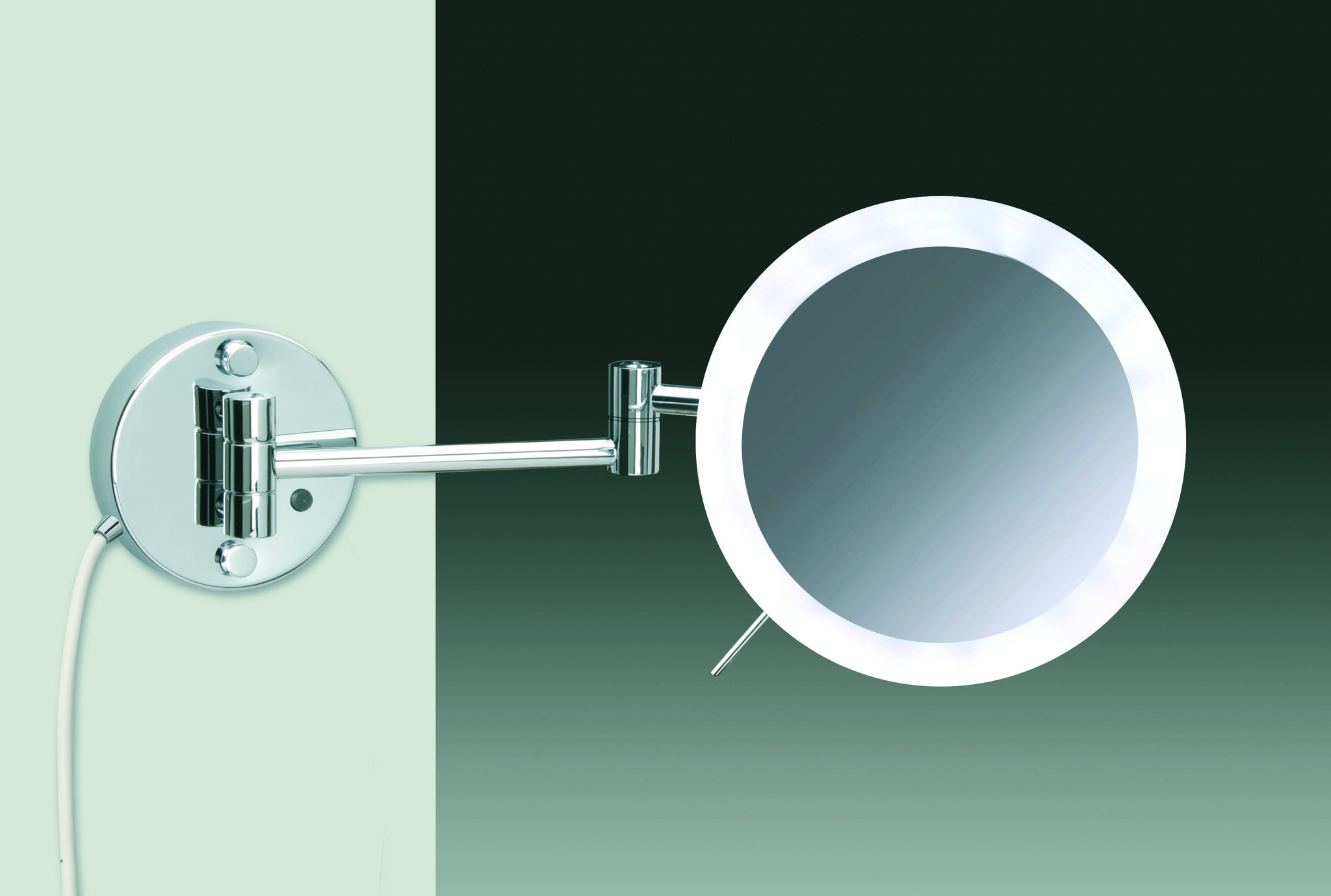 Элитное зеркало косметическое 99854/2CR 5XD от Windisch