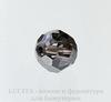 5000 Бусина - шарик с огранкой Сваровски Crystal Silver Night 10 мм