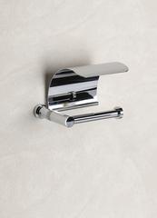 Держатель туалетной бумаги с крышкой 85351CRO Ribbed от Windisch