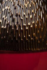 Элитная ваза декоративная Copperfield красная высокая от Sporvil