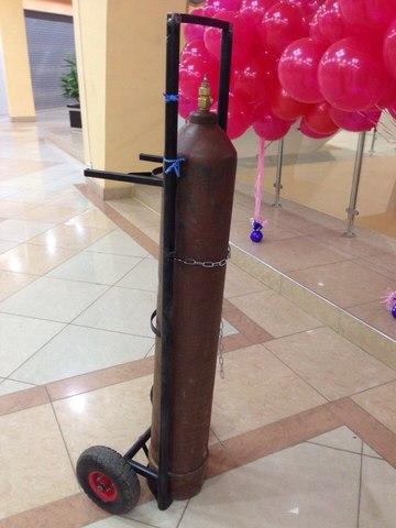 Тележка для перевозки балона