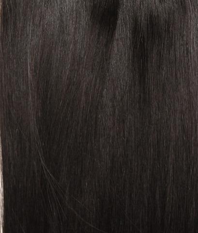 Чудо-набор -Оттенок 1B-Темно коричневый с черным отливом-Длина 70 см вес набора 165 грамм