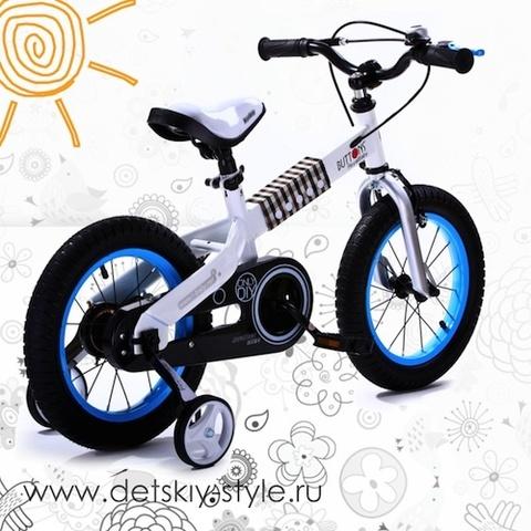 "Велосипед Royal Baby ""Buttons Steel 18"" (Роял Беби)"