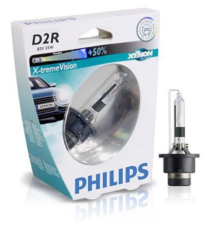 Лампа ксенон D2R (4800К) Philips X-tremeVision (блистер)