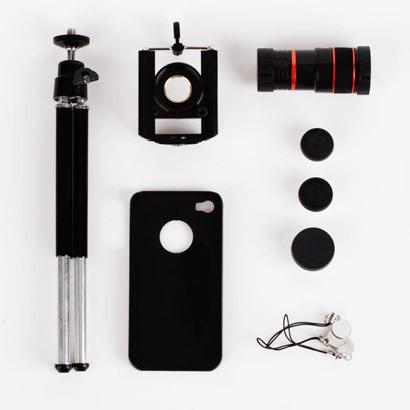 Набор оптики для iPhone 4/5/6 (iPhone 5/5S)