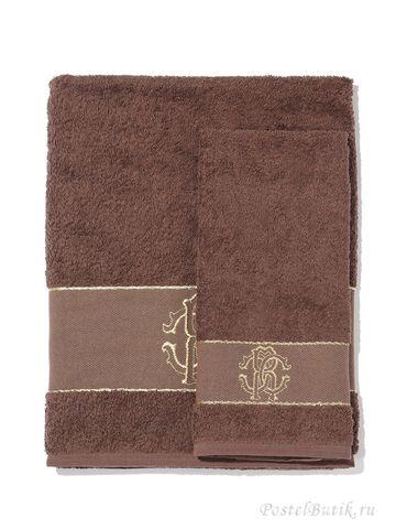 Набор полотенец 2 шт Roberto Cavalli Araldico коричневый