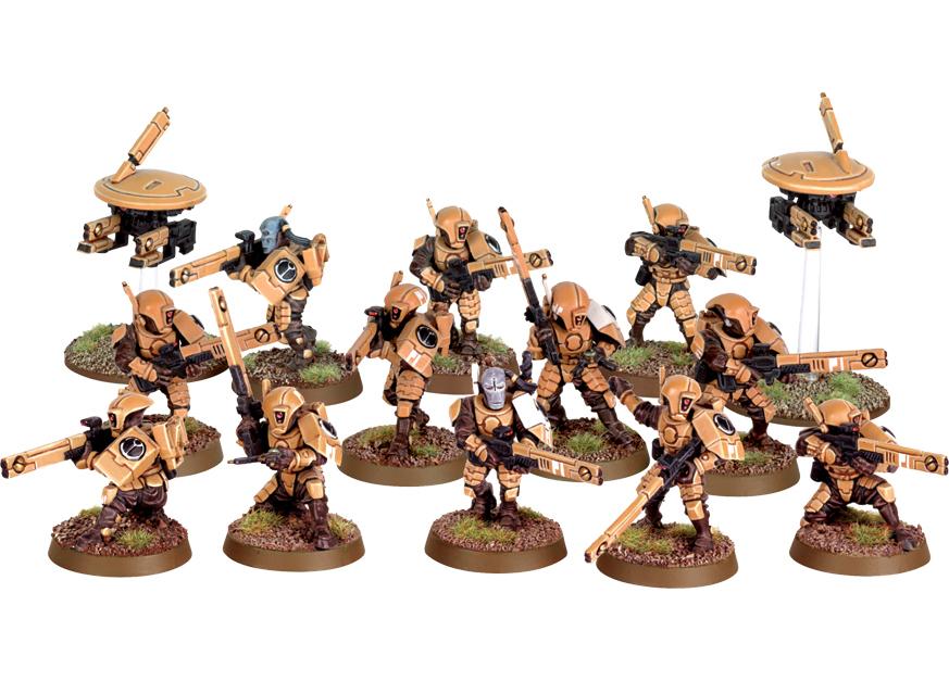 Tau Fire Warrior Team
