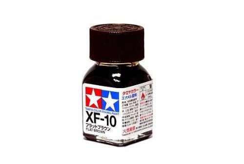XF-10 Краска Tamiya Коричневая Матовая (Flat Brown), эмаль 10мл