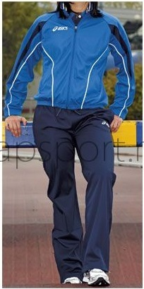 Женский спортивный костюм асикс SUIT PRETTY LADY Blue (T817Z5 4350)