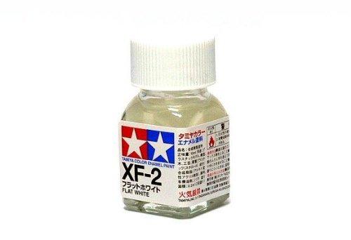 XF-2 Краска Tamiya Белая Матовая (Flat White), эмаль 10мл