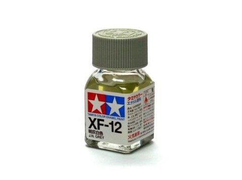 XF-12 Краска Tamiya Японская Морская Серая Матовая (J.N. Grey), эмаль 10мл
