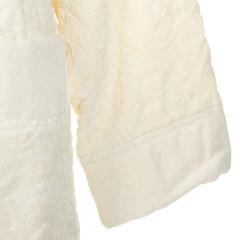 Элитный халат-кимоно велюровый Damasco 810 ecru от Roberto Cavalli