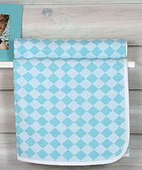 Плед детский 75х100 Luxberry Lux 3313 голубой