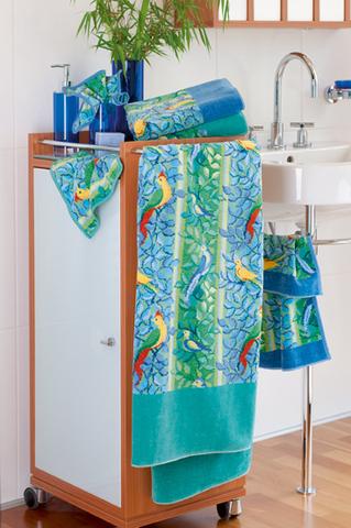 Элитный плед шенилловый Amazonas 205 jeans blau от Feiler