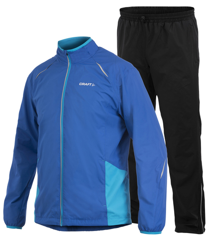 Костюм Craft Active Run Wind мужской Blue