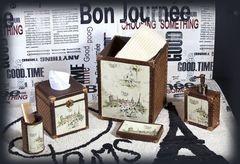 Дозатор для жидкого мыла I Love Paris от Creative Bath