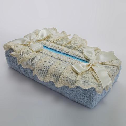 Салфетница для бумажных полотенец Buratto голубая от Old Florence
