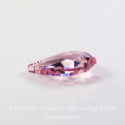 6090 Подвеска Сваровски Baroque Light Rose (16х11 мм) ()