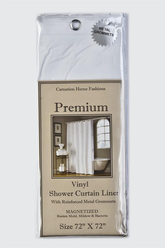 Элитная шторка защитная Premium 4 Gauge White от Carnation Home Fashions