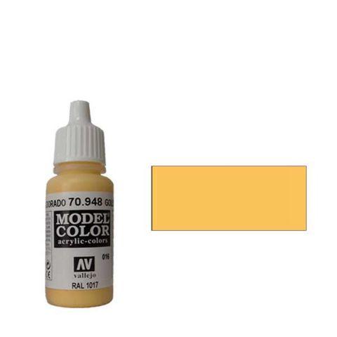 016. Краска Model Color Золотисто-Желтый 948 (Godlen Yellow) укрывистый, 17мл