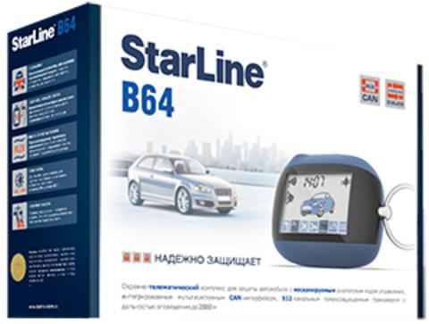 Автомобильная сигнализация StarLine B64 CAN